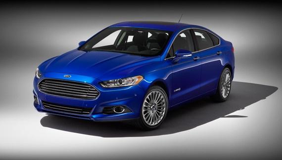 Ford Fusion Hybrid Gone Titanium
