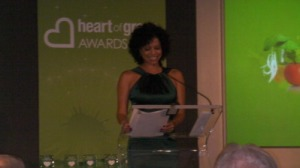 Gloria Ruben at the Heart of Green Awards