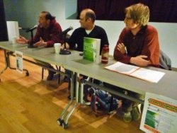 Ossining, New York Green Lighting panel. All the authors.