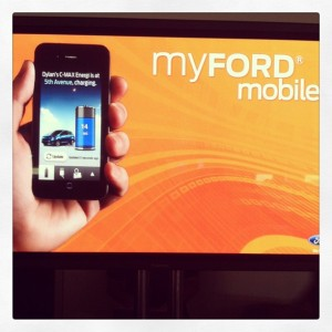Ford smartwatch app for electric cars