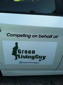 Green Living Guy plugin Prius magnet