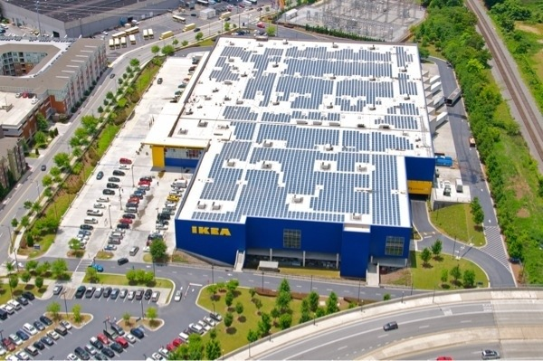 Ikea to install solar panels on future miami store for Ikea installation nyc