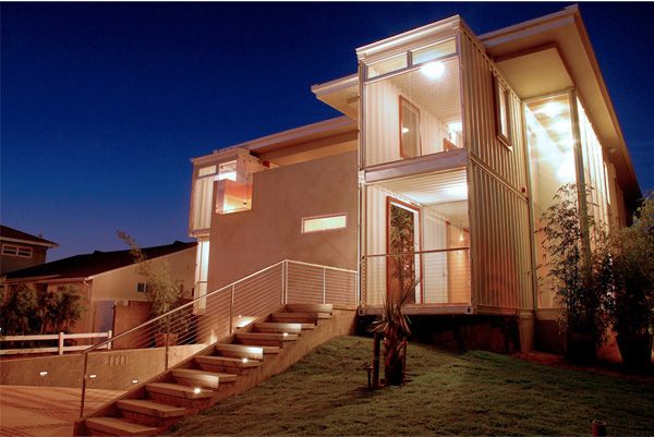image  Houses Built Out Of Shipping Containers In Container ...
