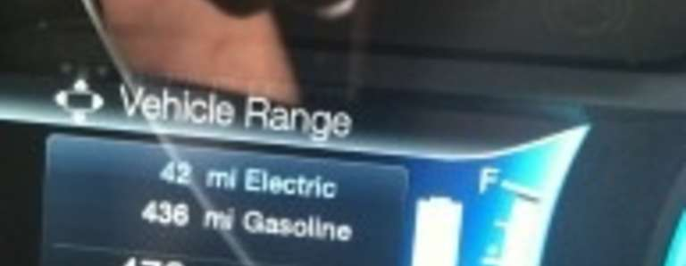 C-Max Energi Plugin hybrid Electric Car