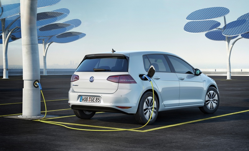 VW eGolf all electric car