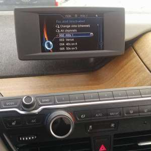BMW i3 electric car Eucyliptus Dashboard