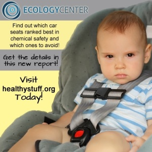 Lots of toxic chemicals in children's car seats