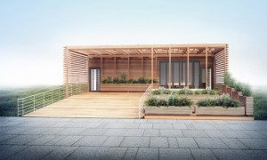 Solar Decathlon image of home net zero solar passive house