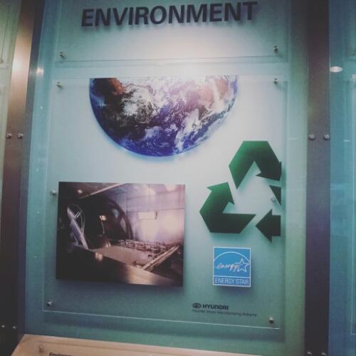 Hyundai working to go Green at Elantra plant