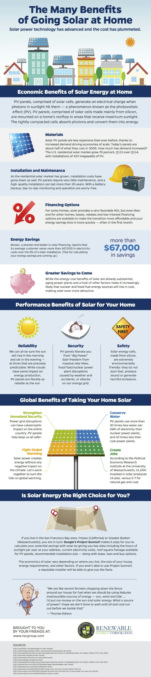 Solar is the way to go the green living guy Benefits of going solar