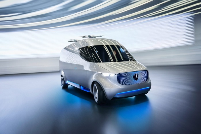 Mercedes-Benz Vans is presenting a fascinating, integrated solution for new customer requirements with the