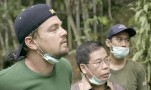 Uncovering the impact of climate change … DiCaprio in Indonesia in Before the Flood. Photograph: RatPac Documentary Films