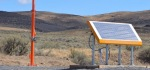 Urban Solar wins RFP to supply bus stop lighting systems for Orange County.  Picture in desert