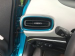 2017 Toyota Prius Prime Advanced (viewing the newly shaped air vents on side by driver)